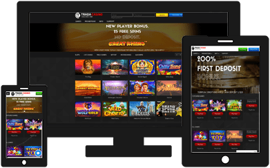 trada casino background